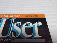 MACUSER MAGAZINE JULY 1987 GUC