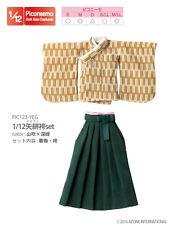 AZONE Picconeemo 1/12 Yagasuri hakama set Yamabuki × Dark green