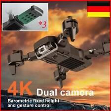 Faltbar Mini Drohne Mit 4K HD Dual Kamera WIFI FPV Selfie Quadrocopter RC Drone