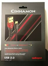 Audioquest Cinnamon Digital Audio USB A to Micro Cable 0.75m