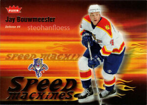 2006-07 Fleer Speed Machines #SM13 Jay Bouwmeester Florida Panthers