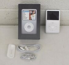 Apple iPod classic 6th Generation Silver 80 GB Media Player Box & Accessories