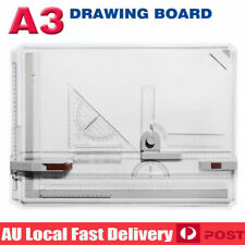 A3 Drawing Board Table With Parallel Motion Adjustable Angle Drafting AU Stock