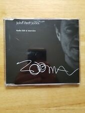 John Paul Jones Led Zeppelin Zoma Radio Edit & Interview cd RARE