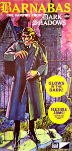 MPC #757 Barnabas Collins The Vampire from Dark Shadows TV Show 1/8 model kit