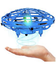 Mini Drone For Kids and Adults, Hand Operated flying Toy With 360° Rotating