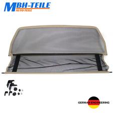 Beige MBH Filet Anti Remous Mercedes CLK W208 C208   1997-2002   Coupe de vent  