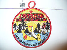 2004 Camp Flaming Arrow Reservation,Hurricane Season,Gulf Ridge Council,OA 85,FL