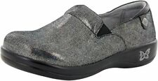 Alegria Keli Women's Shard Oh Yay Leather with Rubber Sole Slip On Shoes US 8 M