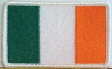 IRELAND Flag Patch with VELCRO brand fastener Military Tactical White Emblem #6