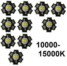 10x Hi-Power LED 3W Kaltweiß STAR 10000-15000K  200-230lm