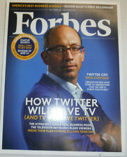 Forbes Magazine Dick Costolo Twitter Will Save TV October 2013 122914R