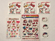 Rare Hello Kitty Con Rainbow 40th Anniversary Baseball Tattoo Lot, 2005-2014 NEW