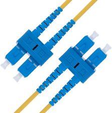 SC to SC Fiber Patch Cable Single Mode Duplex - 1m (3.28ft) - OS1 - Beyondtech