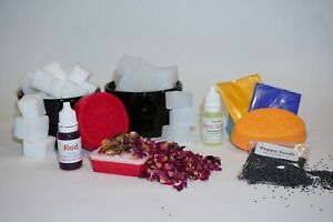 Soap Making Kit - Mixed Variety - Various Colours (Melt & Pour) - Ideal Gift!