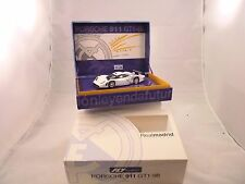FLY CAR MODEL #RM01 PORSCHE 911 GT-1 98 REALMADRID CLUB FUTBOL 1/32 SLOT CAR