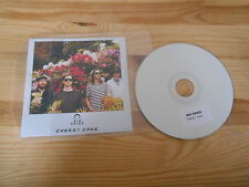 CD Indie Big Skies - Cherry Coke (1 Song) Promo HALF HUMAN HALF ROBOT