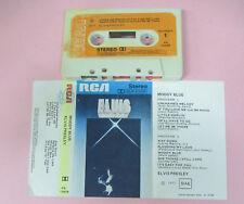 MC ELVIS PRESLEY Moody blue 1977 italy RCA PK 12428 no cd lp vhs dvd
