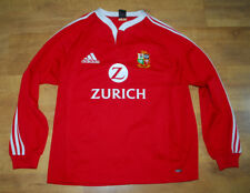 adidas British Lions New Zealand 2005 tour long-sleeved home shirt (Size L)