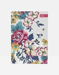 Joules Home A4 Slim Casebound Notebook - Anniversary Floral - One Size