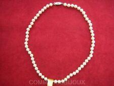 """Collier """"Perles"""" couleur Nacre Majorque Promo Reine du Bal - Bijoux pur Cadeau"""