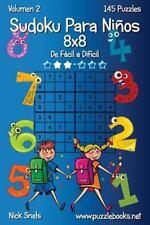 Sudoku para Niños: Sudoku para niños 8x8 - de Fácil a Difícil - Volumen 2 -...