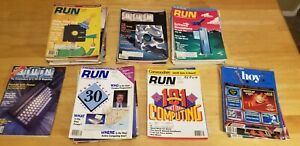Computer Magazine RUN 40 Issues Commodore C-128 C-64 + 2  ahoy