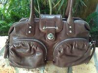Botkier Brown Leather Satchel Handbag