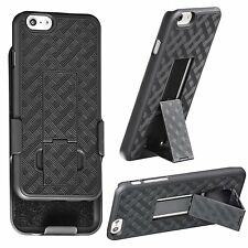 Shell Holster Belt Clip Stand Combo Case Cover For Apple iPhone 6 Plus 5.5""