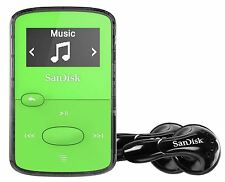 SanDisk Sansa Clip Jam 8GB MP3 Player with FM Radio, SDMX26-008G, Green