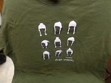 Planeta Llama Chullo Invasion Green T Shirt   Large  N2