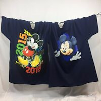DISNEY Men's T-shirt 2ND QUALITY Mickey Mouse Disney World Florida 2 for $19.99