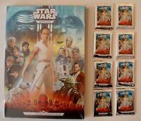 Kaufland Star Wars Sammel Album Leer + 8 Sticker Tüten Der Aufstieg Skywalkers