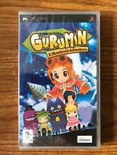 GURUMIN A MONSTROUS ADVENTURE (Sony PSP) Brand New Factory Sealed