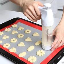 Biscuit Maker Shaper Cake Cutter Decorating Set 19pcs Cookie Press Pump Machine