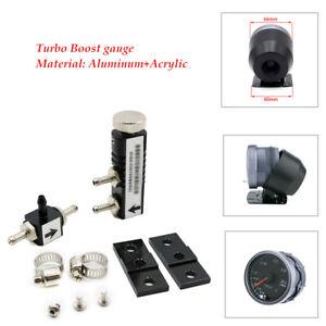 Aluminum Acrylic Car Turbo Boost Gauge Adjustable Turbo Boost Controller Kit