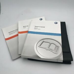 VW VOLKSWAGEN SHARAN  HANDBOOK MANUAL PACK 2010 To 2016