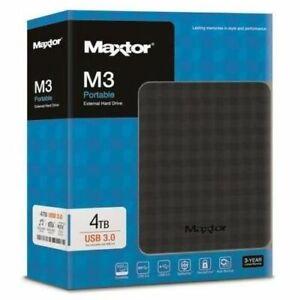 "Hard Disk portatile 2,5""  Maxtor M3 4 TB"