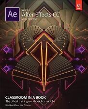 Adobe After Effects CC Classroom in a Book (2017 Release) (Paperback or Softback