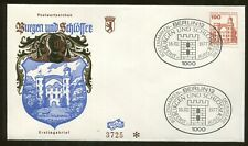 1977 Berlin Germany - Castles & Palaces - Berlin Pfaueninsel - First Day Cover