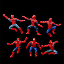 6pcs New Spider-Man PVC Action Different Mini Figures Decoration Toy Kids 4-5CM