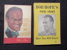 BOB HOPE 1954 Own Story 2nd Ed. Paperback VG & 1941 They Got Me Covered 1st VG+