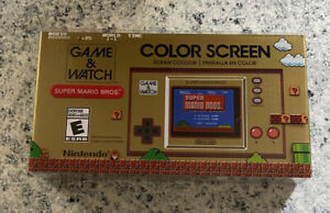 Nintendo Game and Watch Super Mario Bros Electronic Handheld - New