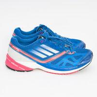 Adidas Adizero Tempo 5 Women's Sz US 7.5 Blue/White/Pink Running Shoes Sneakers
