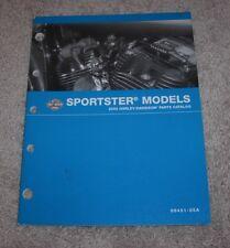 2005 Harley-Davidson Sportster Parts Catalog 99451-05A NEW