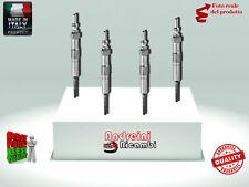 KIT 4 CANDELETTE RENAULT CAPTUR 1.5 dCI 66KW 90CV DAL 2013 ->  GE110
