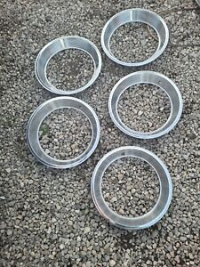 """5 - mopar or amc 14"""" x7 trim rings  1970's, these are OEM not china 4 R NOS"""