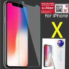 IPHONE X 9H Tempered Screen Clear Film Glass Protector Sticker Priority delivery