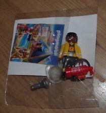 NUOVA Figura PLAYMOBIL vigile del fuoco Casco MEGAFONO Estintore pompiere giocattolo