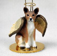 Basenji Dog Figurine Angel Statue Hand Painted